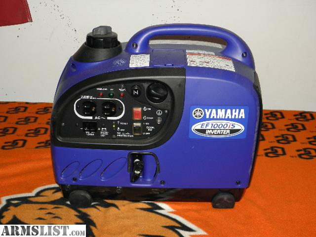 Armslist for sale yamaha ef 1000is inverter generator for Yamaha generator for sale