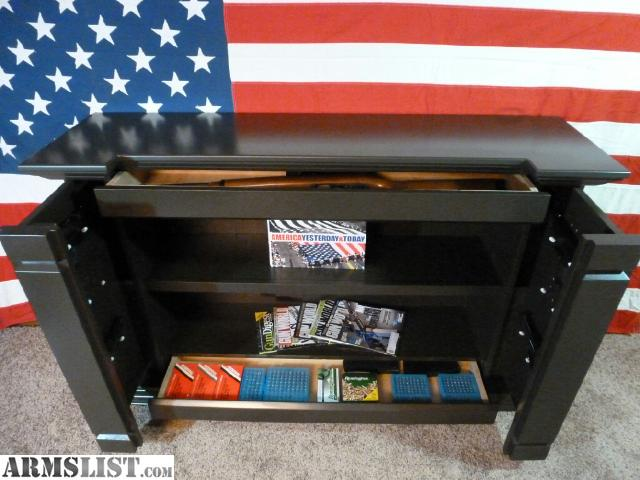 For Sale: Custom Furniture With Lockable Hidden Quick Access Storage