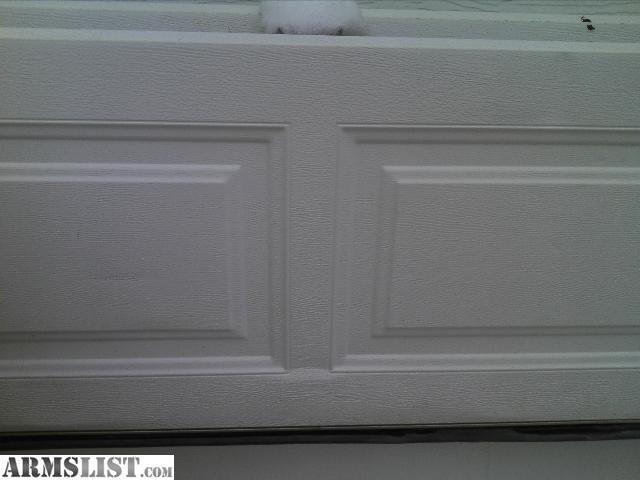 Armslist for sale 16x7 garage door white for 16x7 insulated garage door