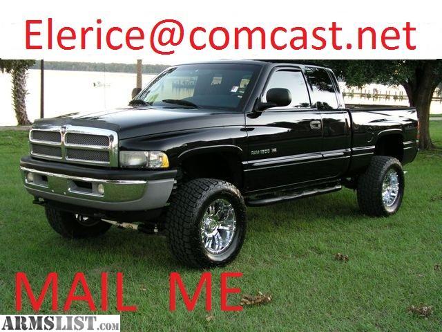 ARMSLIST - For Sale: 2001 Dodge Ram 1500 SLT 4x4