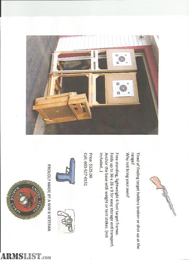 armslist for sale target frames