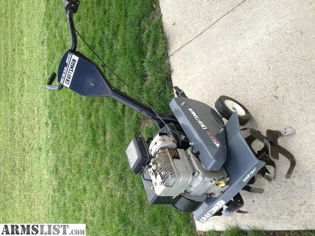 Craftsman 5 Hp 24 Tiller Manual : Armslist for trade craftsman hp rototiller