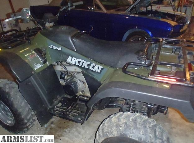 armslist for sale 2004 arctic cat 400 4x4 automatic needs repair. Black Bedroom Furniture Sets. Home Design Ideas