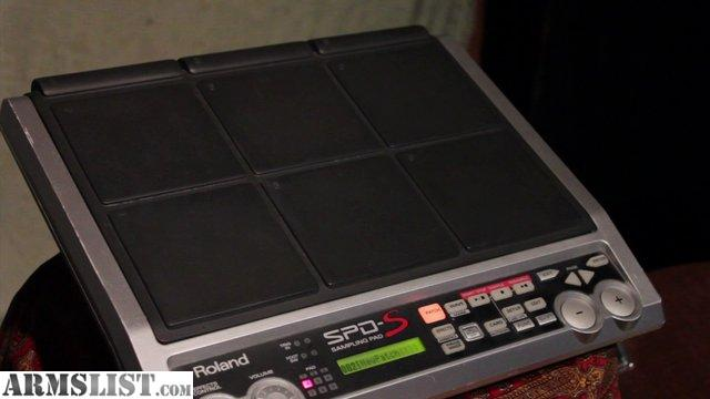 ARMSLIST - For Sale/Trade: Roland SPD-S Drum Sample Pad