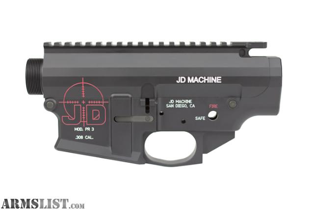 jd machine lower receiver