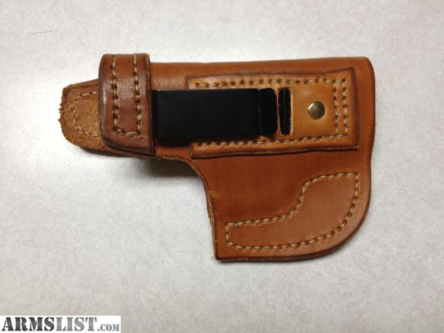 ARMSLIST - For Sale: XDS Holster, leather IWB, like new