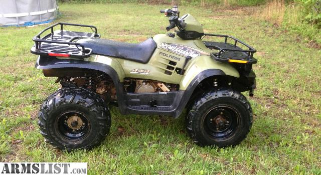 armslist for sale trade polaris sportsman 500 4x4. Black Bedroom Furniture Sets. Home Design Ideas