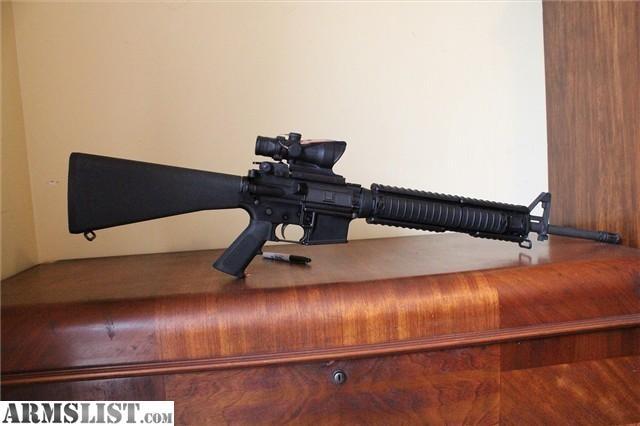 ARMSLIST - For Sale: Colt ar15, 6920, 6900, m4, m16, acog ... M16 Acog