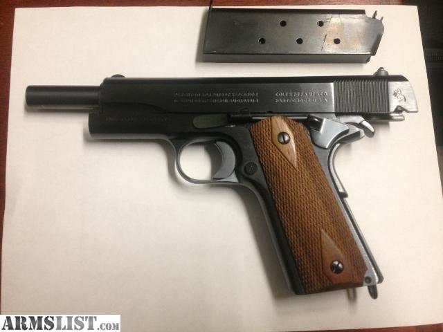 ARMSLIST - For Sale: Colt M1911 - WW1 Reproduction ... M1911 Pistol Ww1