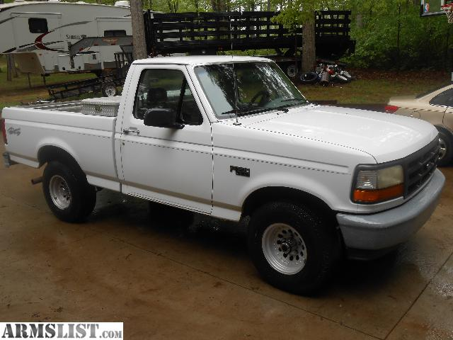 armslist for sale 95 ford f 150 4x4 6 cyl 5 speed. Black Bedroom Furniture Sets. Home Design Ideas
