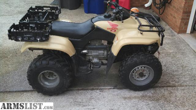 armslist for sale trade 39 02 honda 4 wheeler 250cc. Black Bedroom Furniture Sets. Home Design Ideas