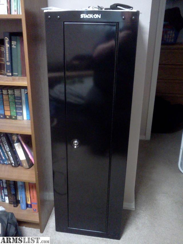 for sale stackon security plus 8gun storage cabinet
