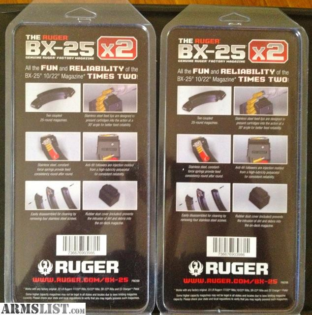 For Sale/Trade: Ruger BX-25 X2 50 Round