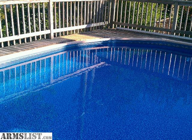 Armslist for sale above ground pool with new filtration for Above ground pools for sale