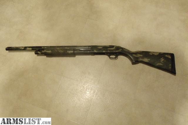 ARMSLIST - For Sale: Mossberg Camo Shotgun