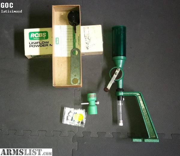 Armslist For Sale Rcbs Powder Dispenser Stand Trickler