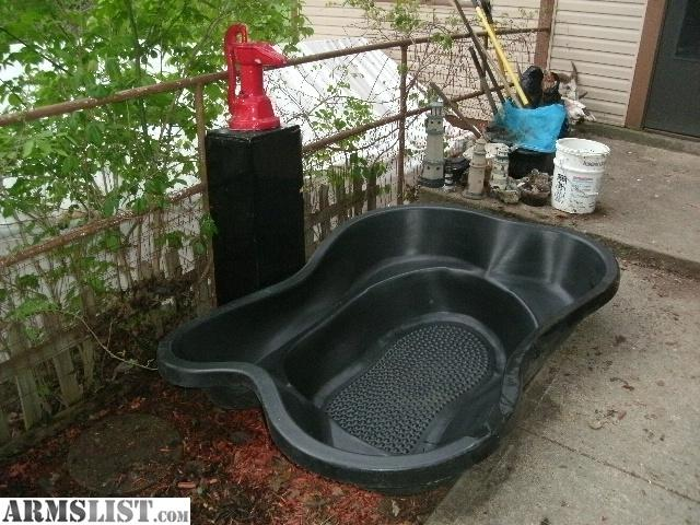 armslist for sale trade koi pond and pump