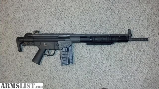 Cetme G3 For Sale: For Sale: PTR 91 HK G3 Clone .308/ 7.62x51 NATO