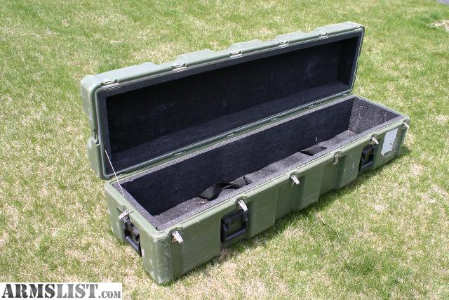 ARMSLIST For Sale US Military Storage Case Container Heavy Duty