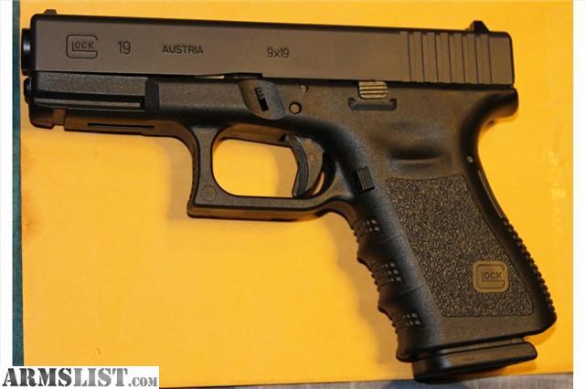 ARMSLIST - For Sale: Glock 19 Gen 3 9mm