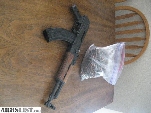 ARMSLIST - For Sale: AK 47 Pistol Grip - no stock - WITH 300 ROUNDS!!! (Bellingham) SALE!