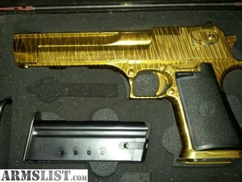 Armslist For Sale Trade Imi Not Iwi Real Gold Hand Etched