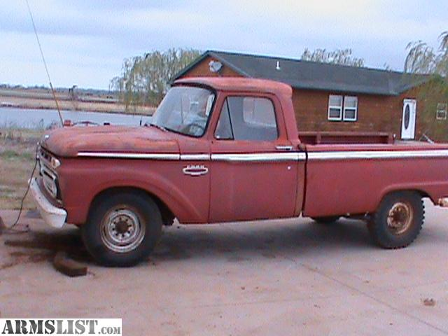 armslist for sale trade 1966 ford f250 pickup. Black Bedroom Furniture Sets. Home Design Ideas