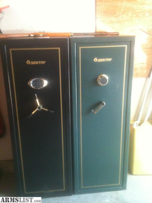 ARMSLIST - For Sale: 2 sentry 14 gun gun safes