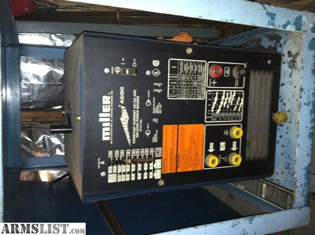 Armslist For Sale Trade Miller Thunderbolt Ac Dc Welder
