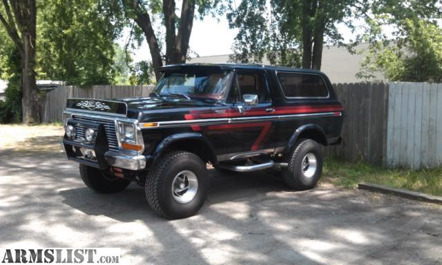 armslist for sale trade 1979 ford bronco. Black Bedroom Furniture Sets. Home Design Ideas