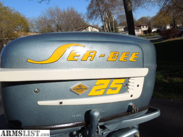 Armslist For Sale 1957 Goodyear Sea Bee 25 Hp Outboard