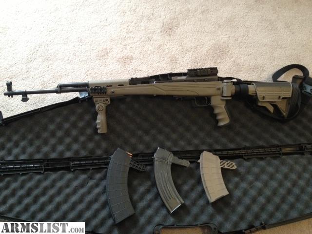 For Sale: SKS With ATI Furniture Battle Gun