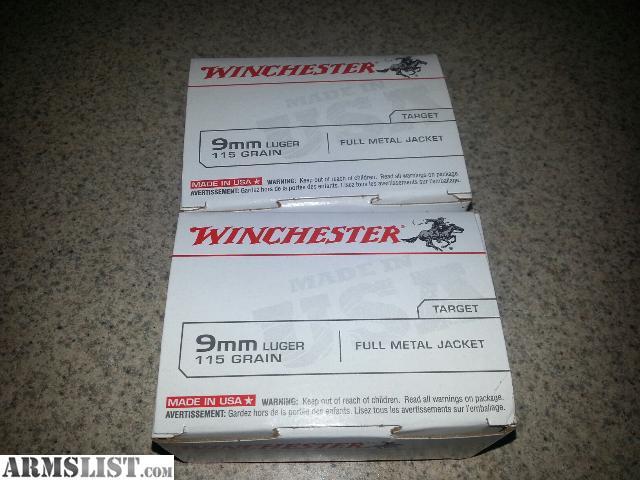 Armslist for sale 9mm ammo fmj brass case 200 rounds for 22 changes salon vancouver washington