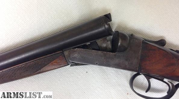 ARMSLIST - For Sale: Black powder shotgun double barrel ...