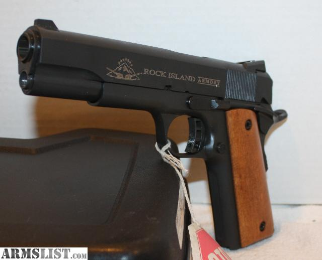 ARMSLIST - For Sale: New Rock Island Armory M1911-A1 Full ...
