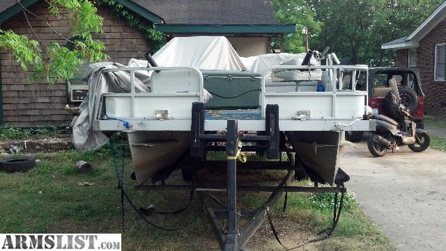 ARMSLIST - For Sale: 95 18.5' lowe pontoon boat fs/ft