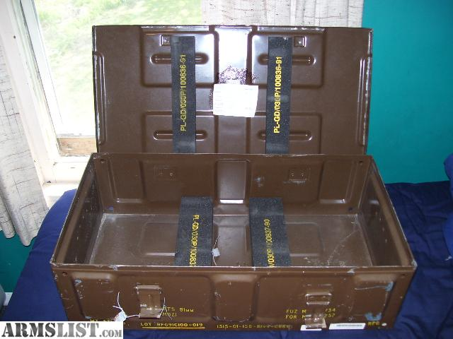 Steel Mortar Boxes : Armslist for sale mm steel mortar case crate can