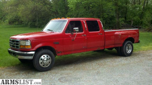armslist for sale 1996 ford f 350 4 door dually. Black Bedroom Furniture Sets. Home Design Ideas
