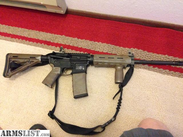 Armslist For Sale Smith Amp Wesson Mp15 W Troy Sights Magpul Furniture