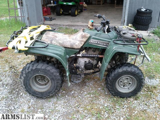 armslist for sale yamaha 250cc four wheeler bear tracker. Black Bedroom Furniture Sets. Home Design Ideas
