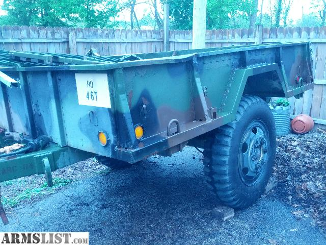 ARMSLIST - For Sale/Trade: Spade Leasing M105A2 1 1/2 Ton ...