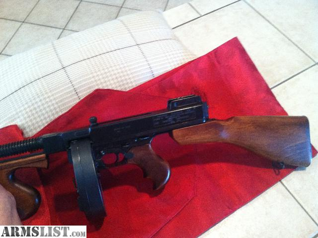 fully automatic thompson machine gun for sale