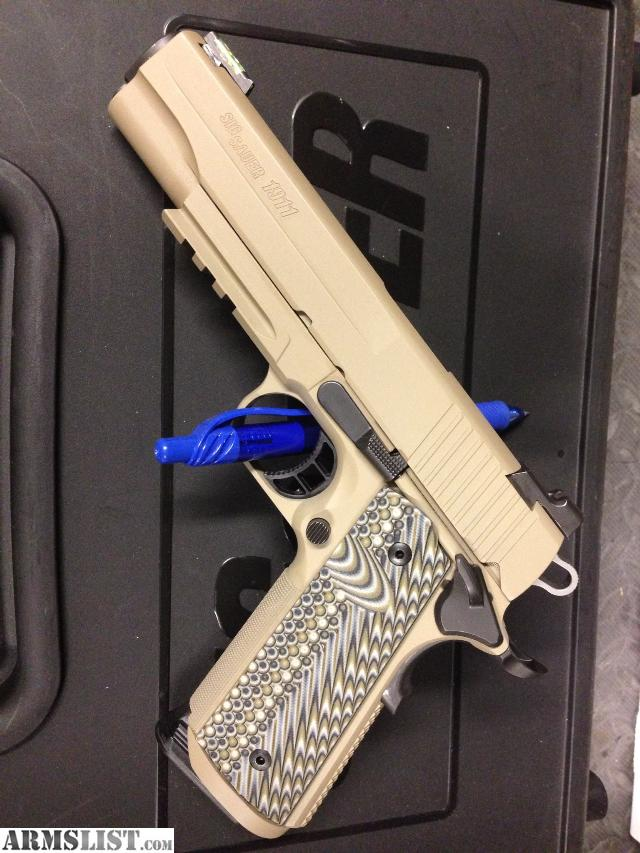 Armslist For Sale Tricked Out Sig Sauer 1911r Tacpac