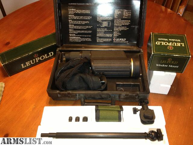 ARMSLIST For Sale NEW LEUPOLD GOLD RING 12 40X60 SPOTTING SCOPE