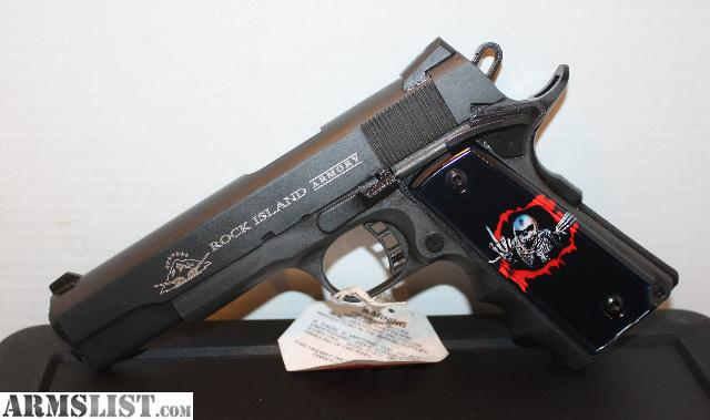 California Approved Handguns Rock Island