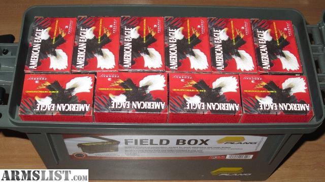 Dry storage container with 30 boxes (40 rounds per box) of 22LR high velocity ammo. 1200 rounds total. & ARMSLIST - For Sale: 22LR High Velocity Ammo with Dry Storage Box Aboutintivar.Com