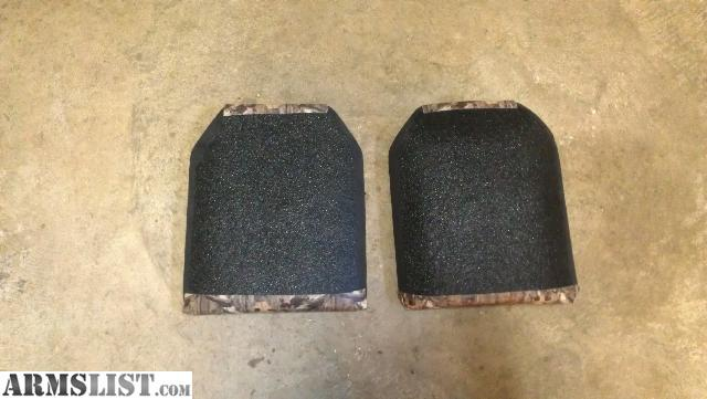 Level 3 stand alone multiple hit plates with a half inch of Line-x sprayed to eliminate spalling(frag) selling as is for $400 firm 9.5lbs each & ARMSLIST - For Sale/Trade: international armor corp. titanium/steel ...