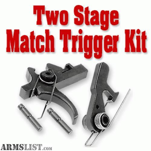 Cmmg lower parts kit w/ single stage trigger
