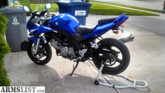 armslist for sale trade 2005 suzuki sv650 motorcycle. Black Bedroom Furniture Sets. Home Design Ideas
