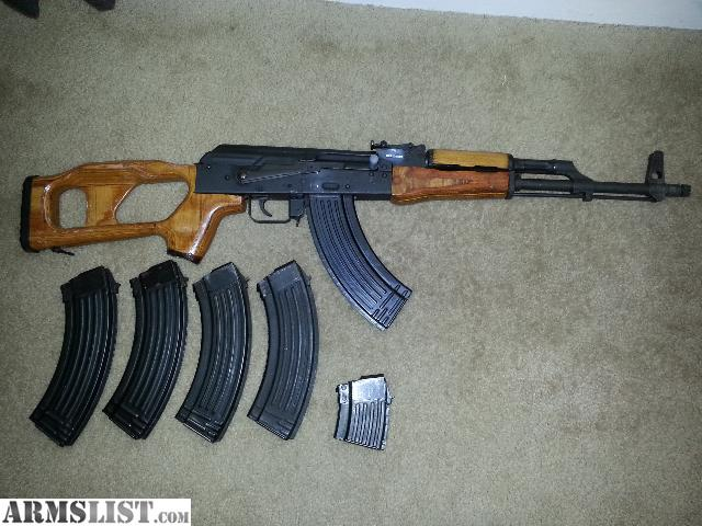 ARMSLIST - For Sale/Trade: REAL ROMANIAN AK47 WUM-1